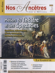 M�tiers du Th��tre et du Spectacle